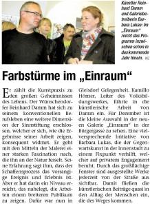 Pressebericht Vielfalt (Reinhard Damm - 2008)