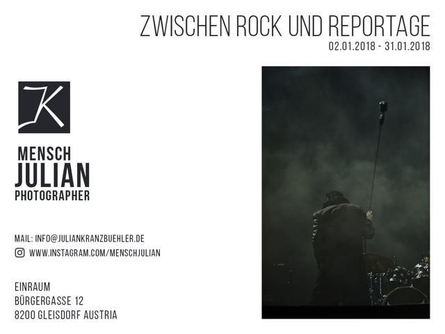 Zwischen Rock und Reportage